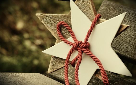 Fondos de pantalla Estrellas, decoración, cuerda