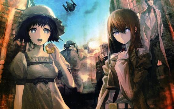 Fondos de pantalla Steins Gate, Chicas, Anime