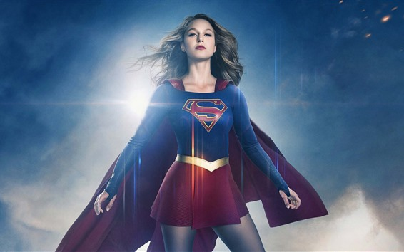 Fondos de pantalla Supergirl, Melissa Benoist, serie de televisión