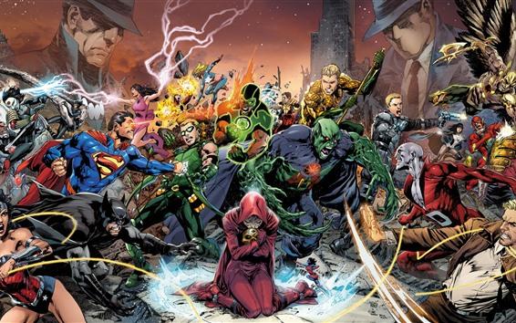 Papéis de Parede Super-heróis, DC comics, art picture