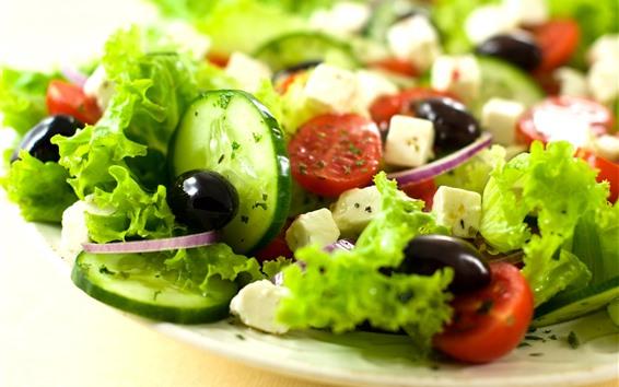 Fondos de pantalla Ensalada de verduras
