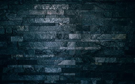 Fondos de pantalla Pared, ladrillos, textura, gris.