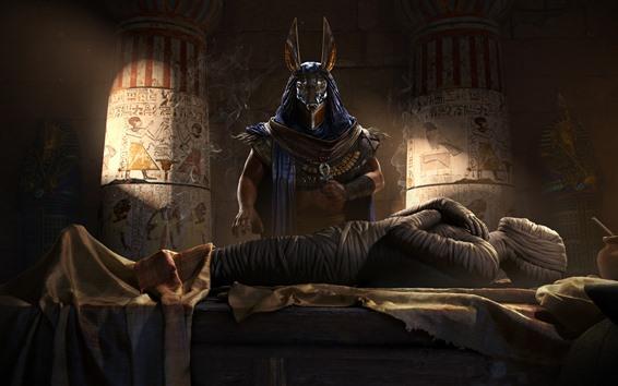 Fondos de pantalla Assassin's Creed: Origins, Egypt, pharaoh, mummy