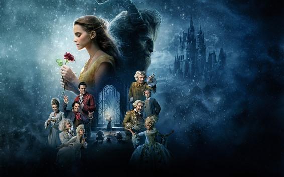 Fond d'écran Film Disney, La Belle et la Bête