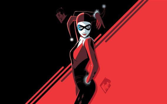 Fond d'écran Harley Quinn, DC Comics, photo d'art