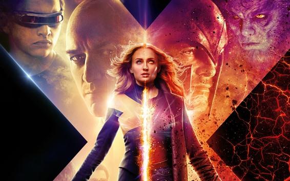 Papéis de Parede Sophie Turner, X-Men: Phoenix Dark