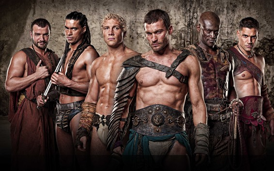 Fondos de pantalla Spartacus: Blood and Sand, series de televisión