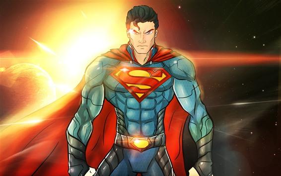 Fond d'écran Superman, super héros, DC Comics