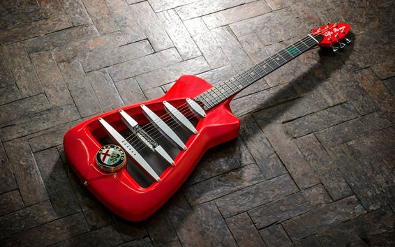 Wallpaper Alfa Romeo, guitar