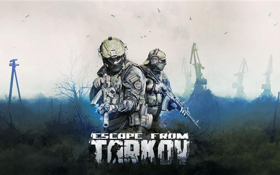 Обои Побег из Таркова, видеоигра