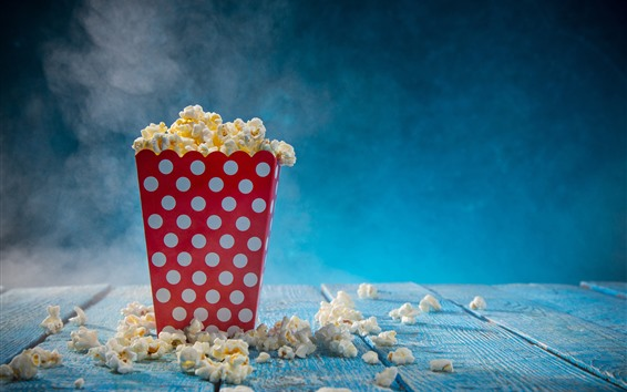 Wallpaper Food, popcorn