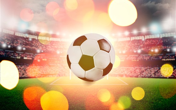 Fond d'écran Football, stade, éblouissement