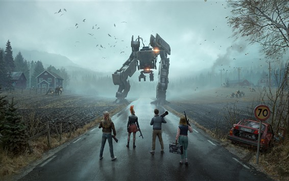 Wallpaper Generation Zero, PC game