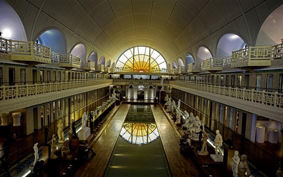 Wallpaper Museum, hall