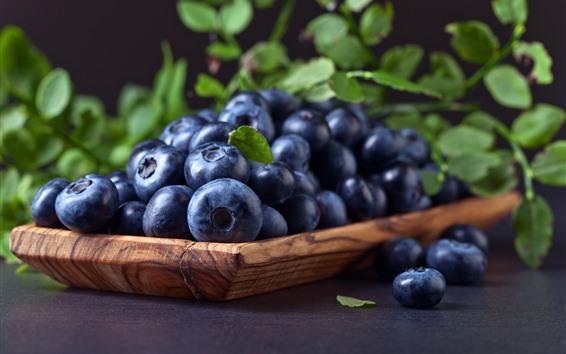 桌布 一些藍莓,水果,漿果