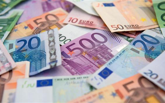 Papéis de Parede Alguma moeda, Euro