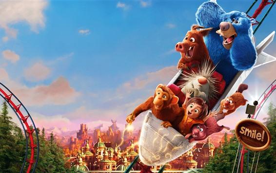 Fondos de pantalla Wonder Park, película de dibujos animados 2019