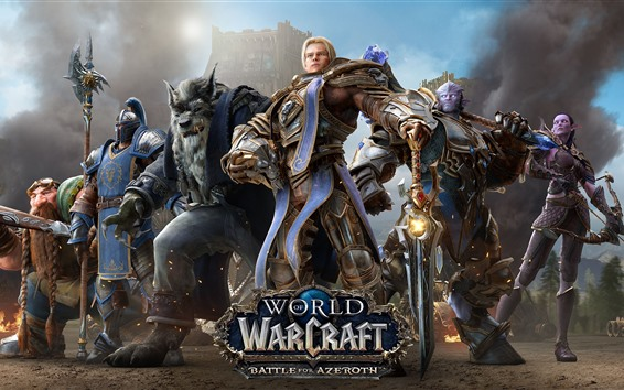 Wallpaper World of Warcraft: Battle for Azeroth, online games