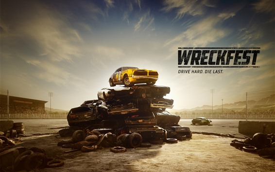 Wallpaper Wreckfest, racing game