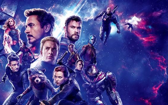 Wallpaper Avengers: Endgame, Marvel superheroes
