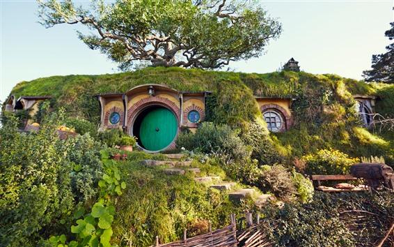 Papéis de Parede Casa do hobbit