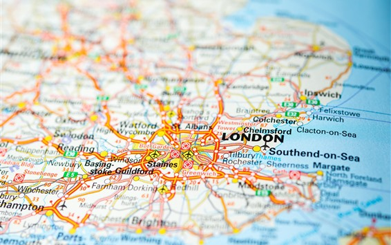 London Map Of England.Wallpaper Map England London 3840x2160 Uhd 4k Picture Image