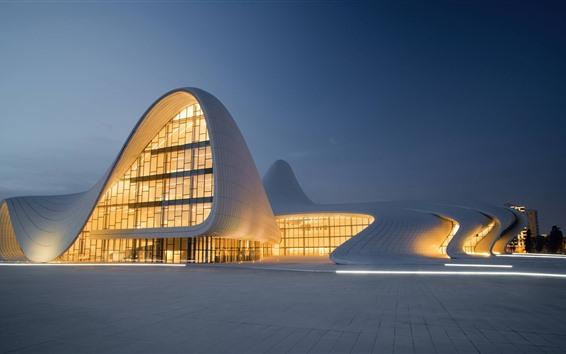 Fond d'écran Architecture moderne, paysage urbain, lumières