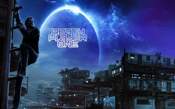 Wallpaper Ready Player One, sci-fi movie