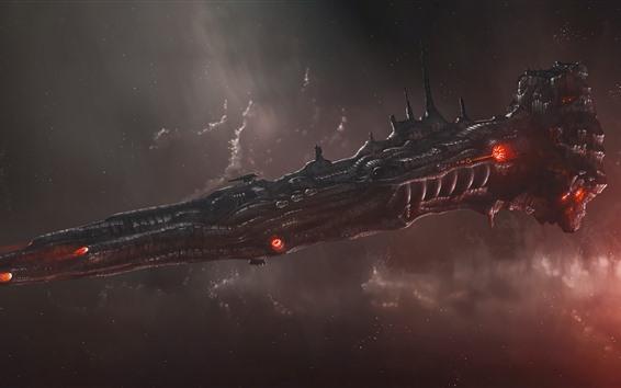 Papéis de Parede Nave espacial, imagem criativa