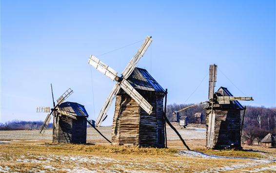 Wallpaper Ukraine, windmill