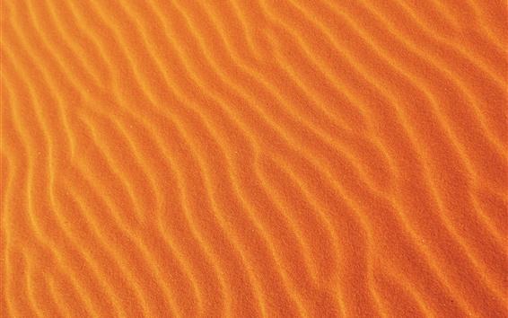 Wallpaper Desert, sands, curves
