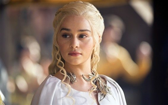 Fond d'écran Emilia Clarke, actrice, Game Of Thrones