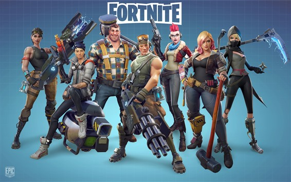 Wallpaper Fortnite Xbox Game 5120x2880 Uhd 5k Picture Image