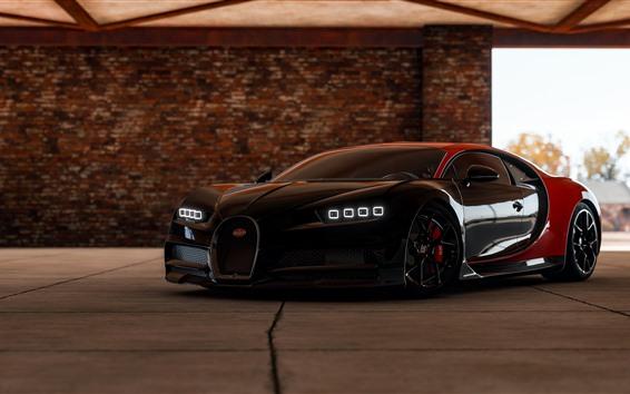 Fondos de pantalla Forza Horizon 4, Bugatti Supercar