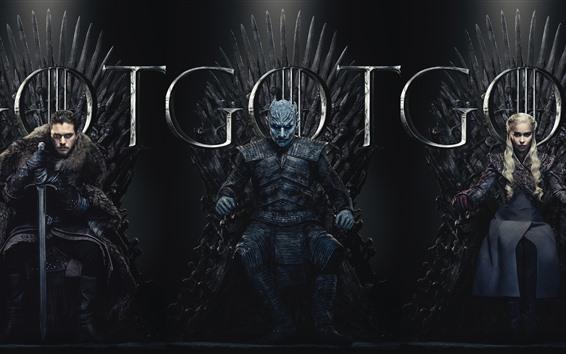 Papéis de Parede Game of Thrones, série de TV quente