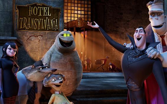 Wallpaper Hotel Transylvania, cartoon movie