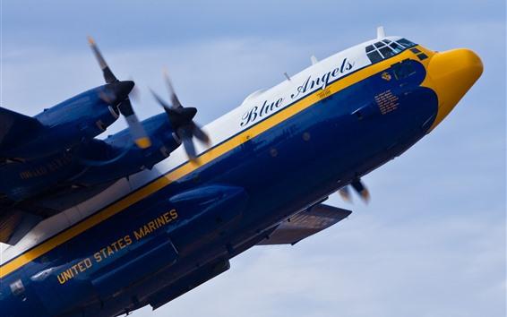 Papéis de Parede Transporte militar de Lockheed Hercules