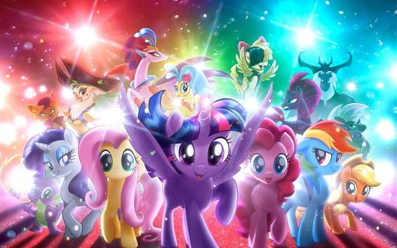 Papéis de Parede My Little Pony, filme de desenhos animados