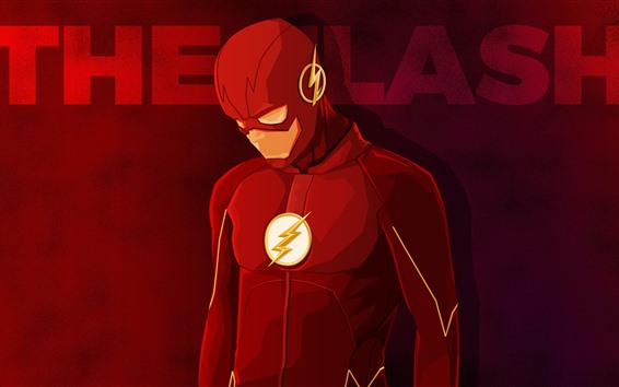 Wallpaper The Flash, superhero, DC comics