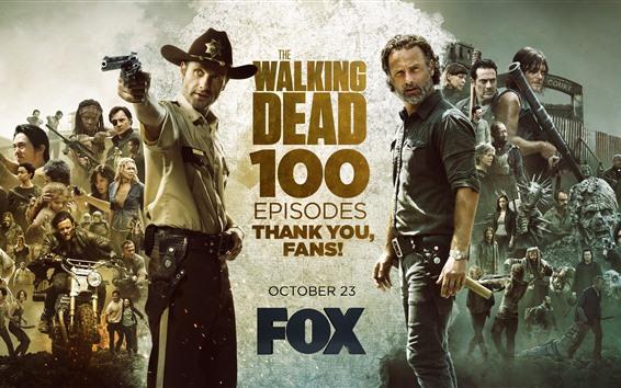 Fond d'écran The Walking Dead, série télévisée FOX