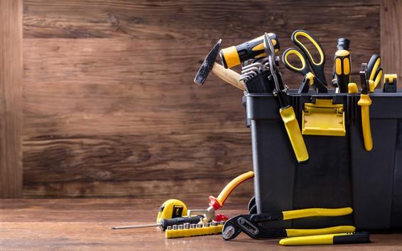 Papéis de Parede Toolbox, muitas ferramentas