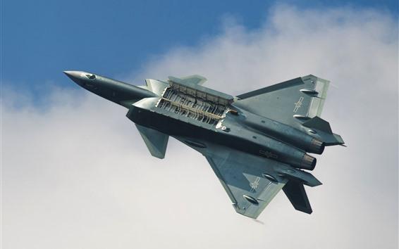 Wallpaper Chengdu J-20 Fighter