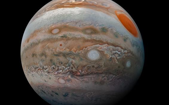 Обои Юпитер, черный фон