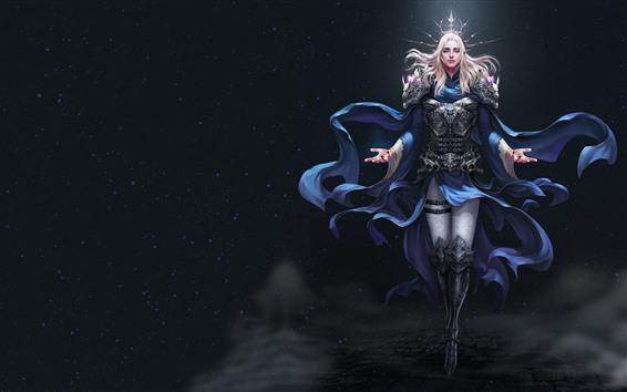 Wallpaper League of Angels, beautiful fantasy girl, magic
