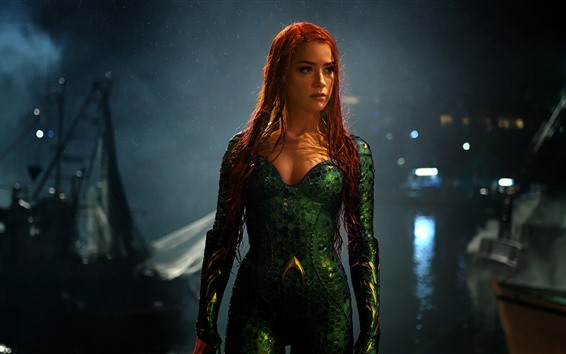 Wallpaper Mera, Amber Heard, Aquaman
