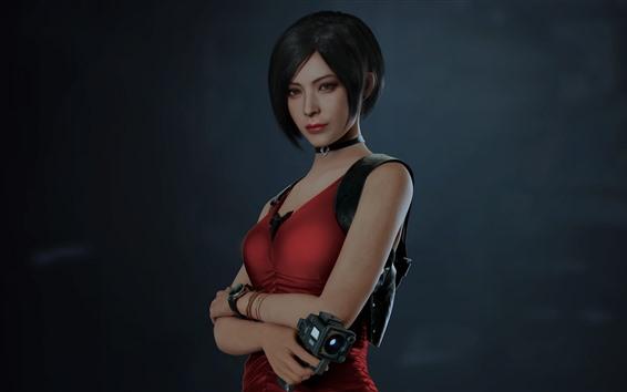 Fondos de pantalla Chica de pelo corto, Resident Evil 2