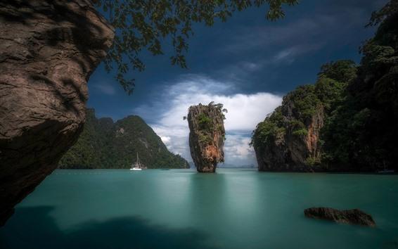 Обои Таиланд, острова, море