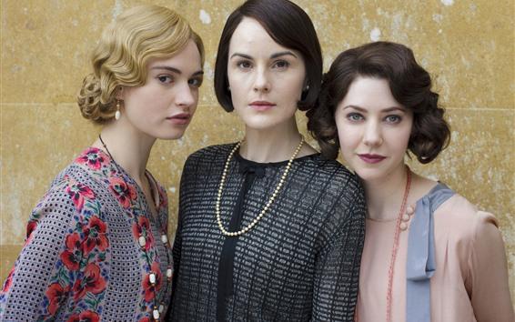 Fond d'écran Trois filles, actrice
