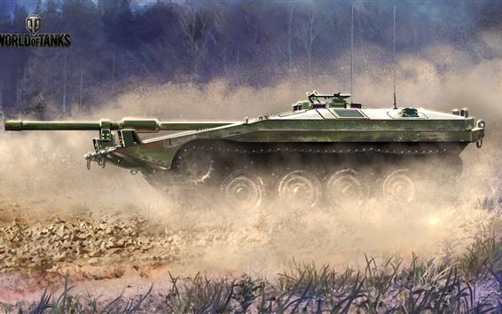 Wallpaper World of Tanks, dust