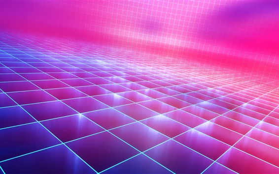 Wallpaper Abstract neon, pink light, creative picture